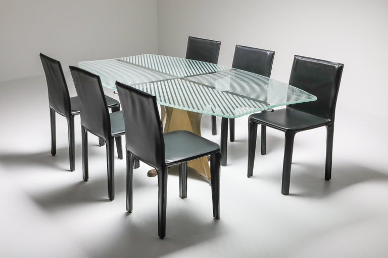 Late 20th Century Oscar Tusquets 'Alada' Dining Table For Sale