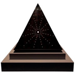 Oscar Tusquets Contemporary Leather Starry Pyramid Limited Edition