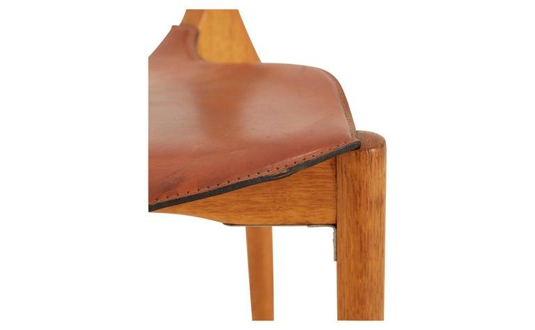 Oscar Tusquets Oak Gaulino Chair In Good Condition For Sale In Chicago, IL