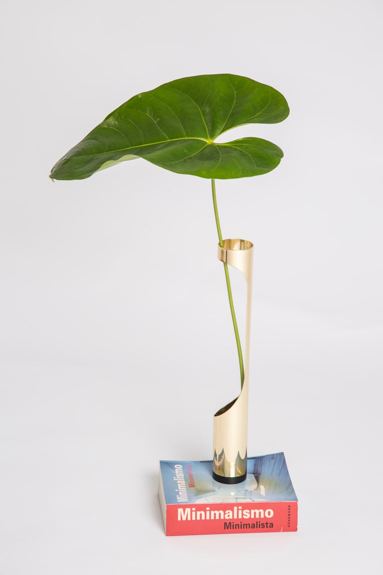 Oscar Vase by Decarvalho Atelier, Brazilian Contemporary Design In Excellent Condition For Sale In Clifton, NJ