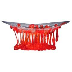 Osè Jellyfish Murano Glass Sculpture