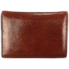 OSGOODE MARLEY Cognac Tan Leather Wallet