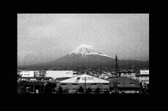 Mount Fuji from a Bullet Train, Documentary photography Tokyo, Kyoto, Japan