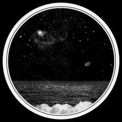 Pour Etienne et Son Ciel, Abstract photo, gelatin silver print, stars,surrealist