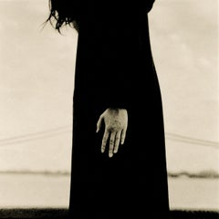 The Hand-Rare, figurative, one of a kind contemporary black and white photo