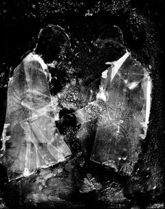 Transference-Limited edition abstract figurative black and white photograph