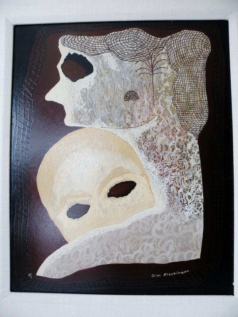 American Oskar Fischinger Surrealism Painting Titled