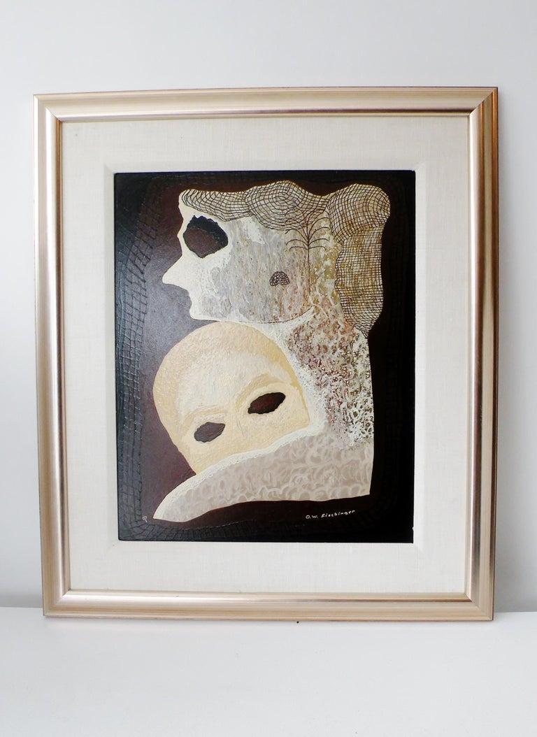 Oskar Fischinger Surrealism Painting Titled