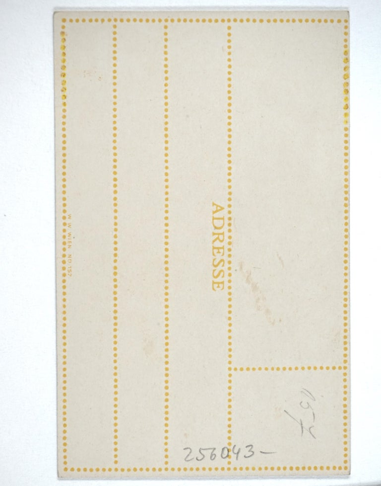 Postcard - Jugendstil Print by Oskar Kokoschka
