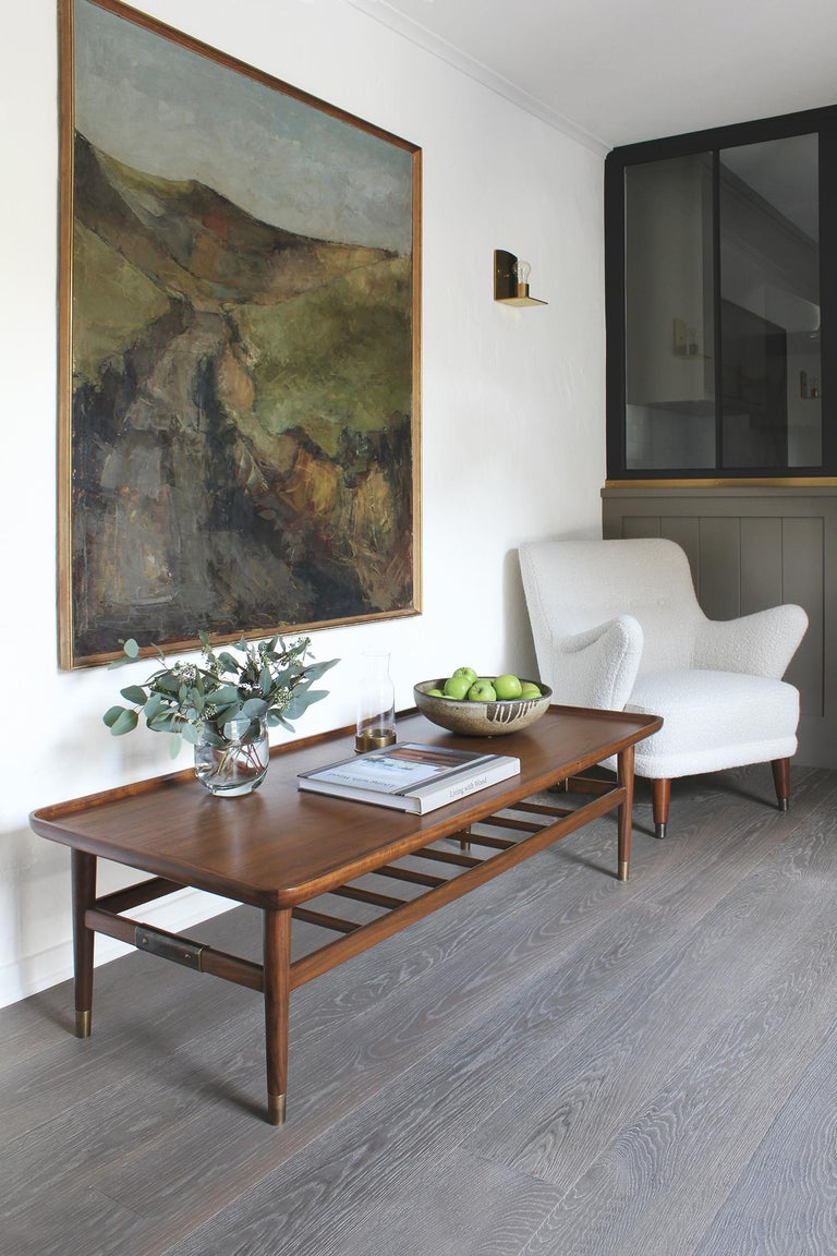 Oslo cocktail table possesses a simple, enduring purity. With rectangular scooped tops, eased edges, and pops of brass, all are smooth to the touch and pleasing to the eye. At home in formal or informal settings, it is the perfect partner to both
