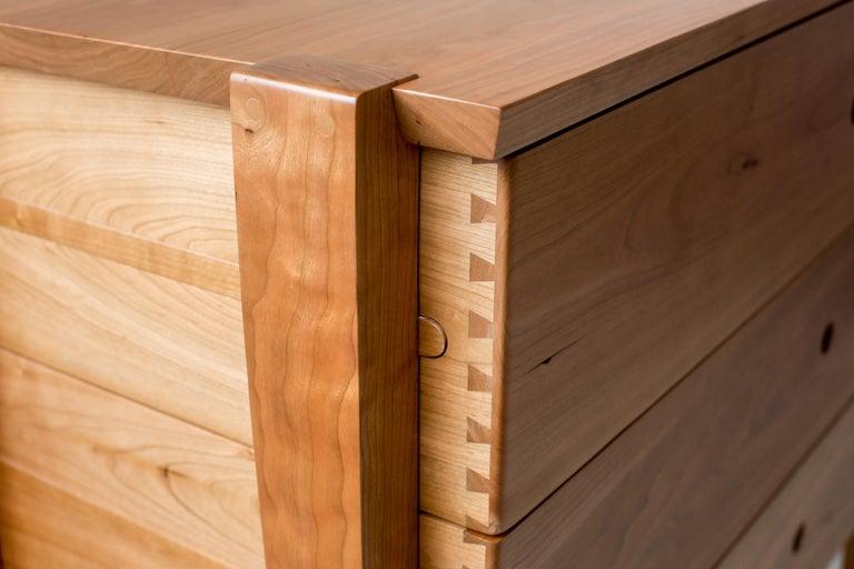 Modern Oslo Dresser in Cherry by Studio Moe For Sale