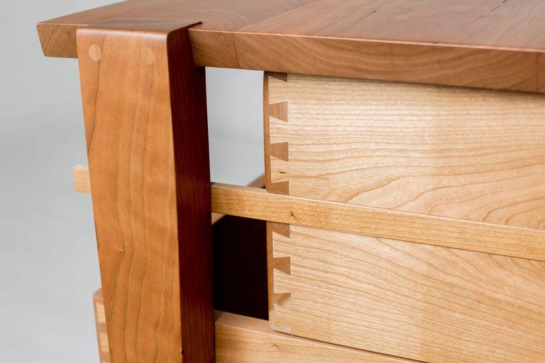 American Oslo Dresser in Cherry by Studio Moe For Sale