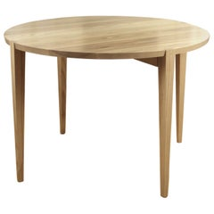 Oslo Round Dining Table in Ash by Studio Moe