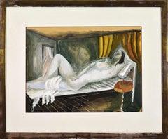 Reclining Nude by Ossip Zadkine