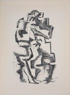 Capital - Original etching, 1962