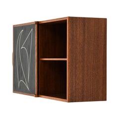 Östen Kristiansson Wall Cabinet Produced by Luxus in Vittsjö, Sweden
