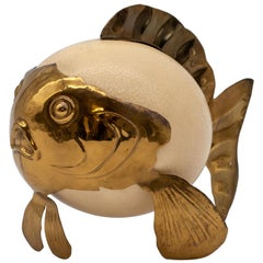 Ostrich Egg Blowfish