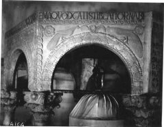 Cividale Cathedral - Vintage Photo Detail by Osvaldo Bohm - Early 20th Century