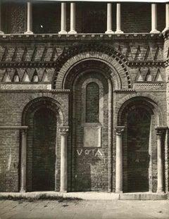 Vota - Vintage Photo Detail by Osvaldo Bohm - Early 20th Century