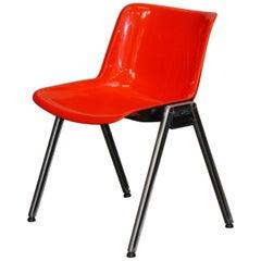 Osvaldo Borsani 1 Chair from Tecno, Italy, 1970s