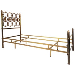 Osvaldo Borsani and Arnaldo Pomodoro Single Bed