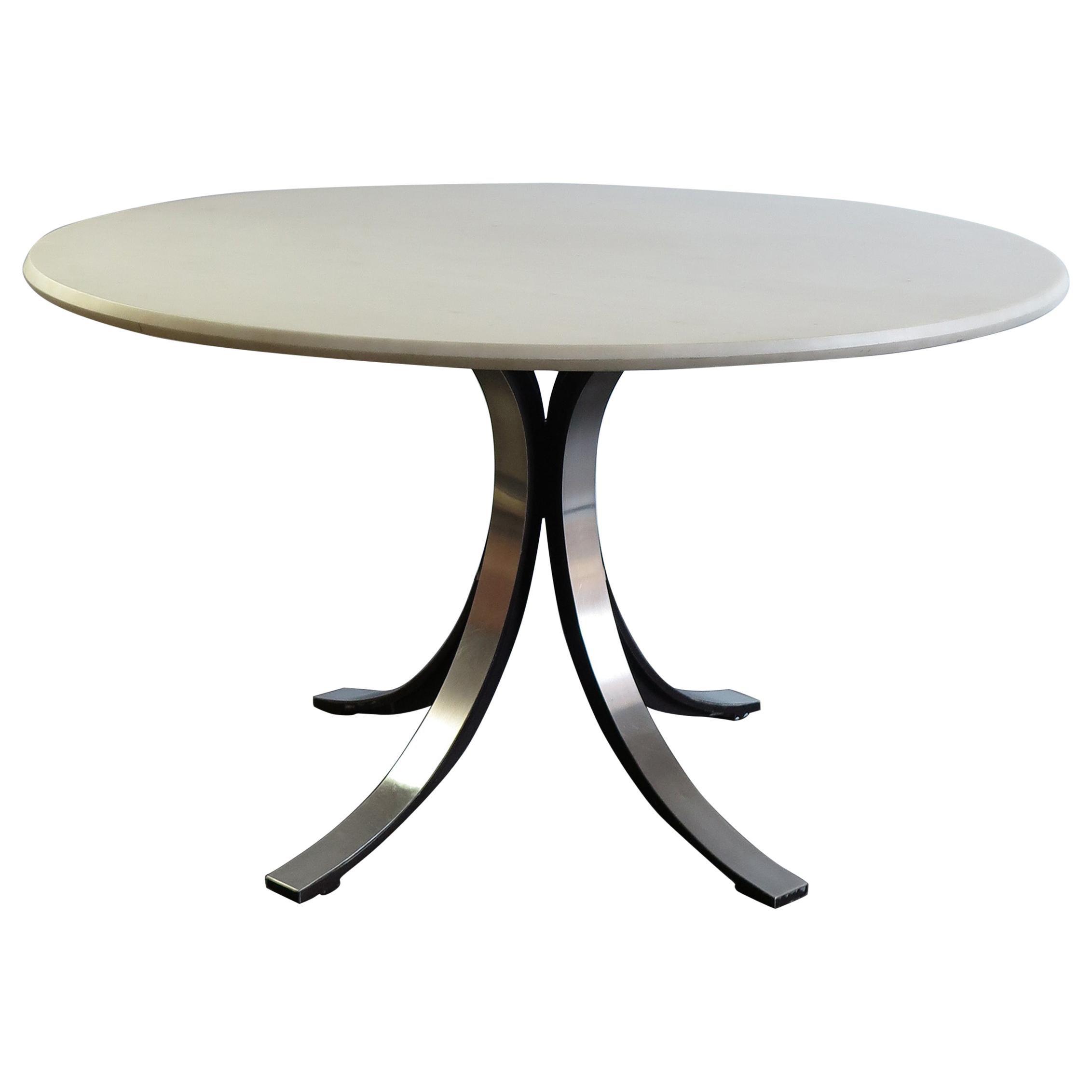 "Osvaldo Borsani and Eugenio Gerli Italian Marble Dining Table ""T69"" for Tecno"
