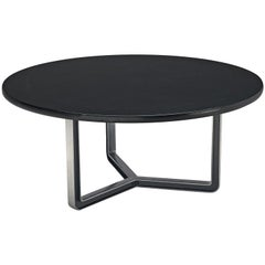 Osvaldo Borsani Black Lacquered Conference Table