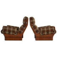 Osvaldo Borsani Canada Lounge Chairs