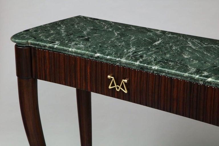 Italian Osvaldo Borsani Console Table For Sale
