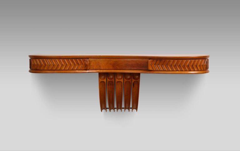 Italian Osvaldo Borsani Console Table For Sale