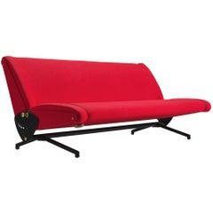 Osvaldo Borsani 'D70' Sofa Daybed for Tecno