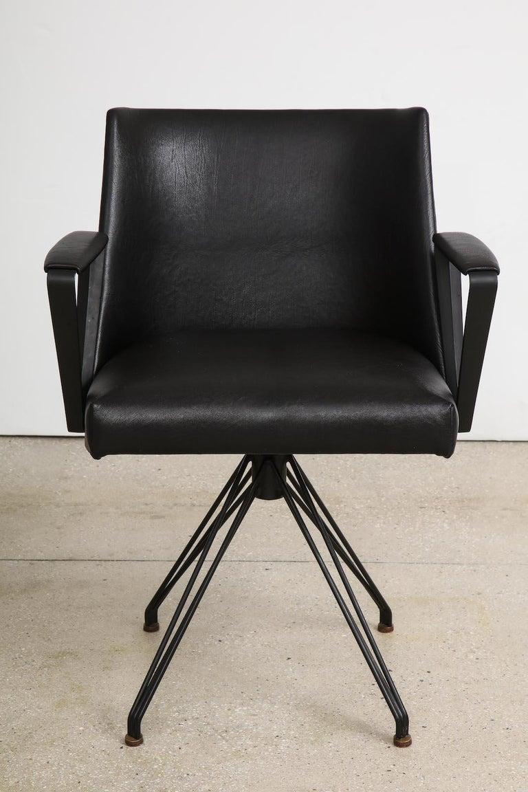Mid-Century Modern Osvaldo Borsani Desk Chair For Sale