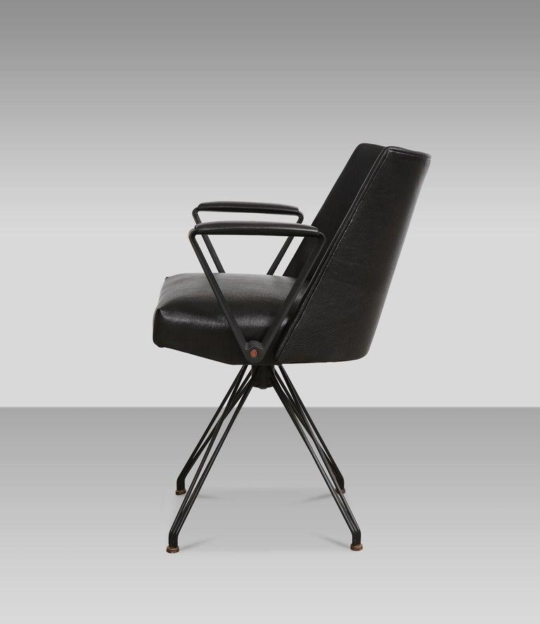 Italian Osvaldo Borsani Desk Chair For Sale