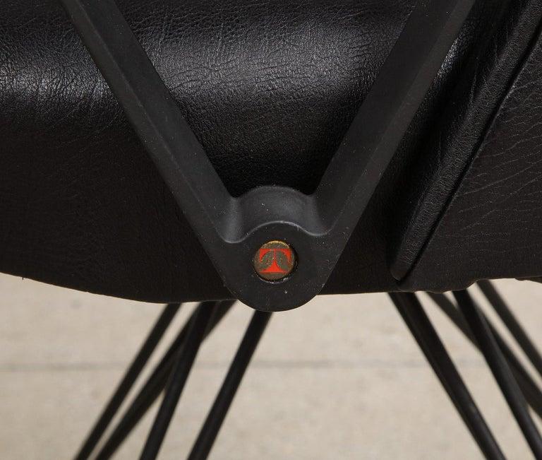 Enameled Osvaldo Borsani Desk Chair For Sale
