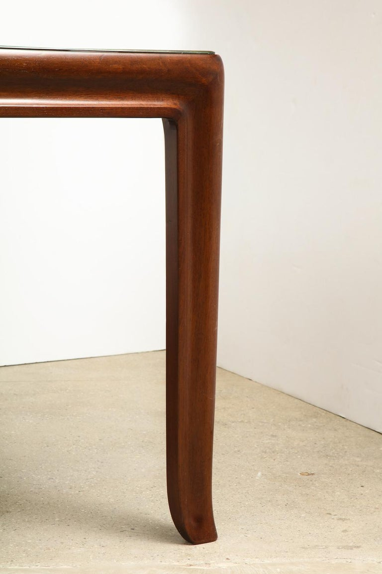 Glass Osvaldo Borsani Dining Table For Sale