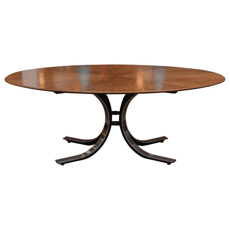 Osvaldo Borsani Dining Table for Tecno, Italy For Sale