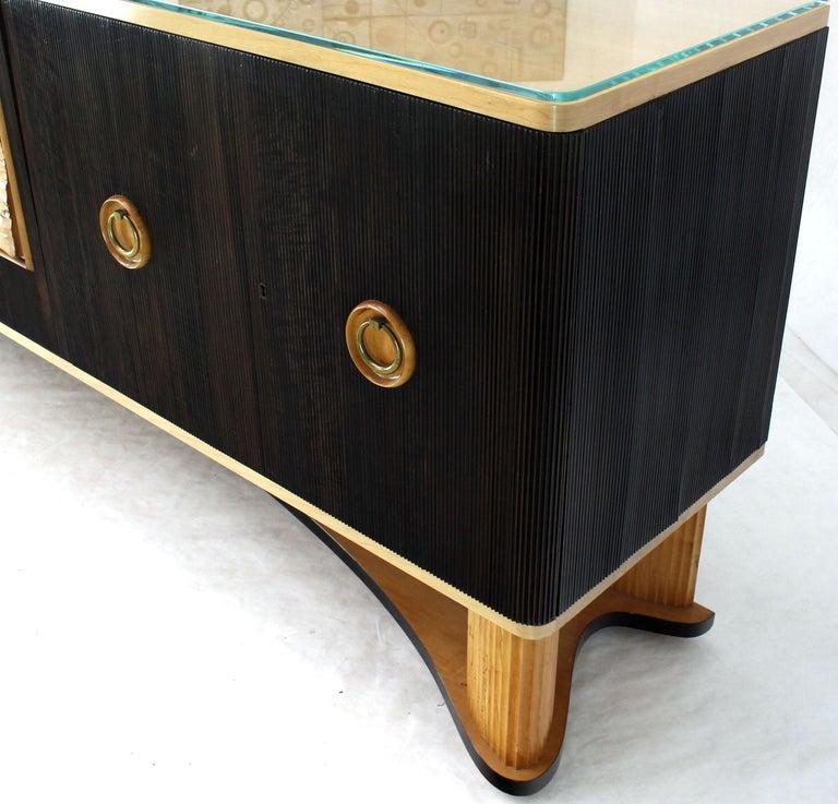 Osvaldo Borsani Extra Long Sideboard Bar Cabinet Credenza Italian Modern For Sale 6