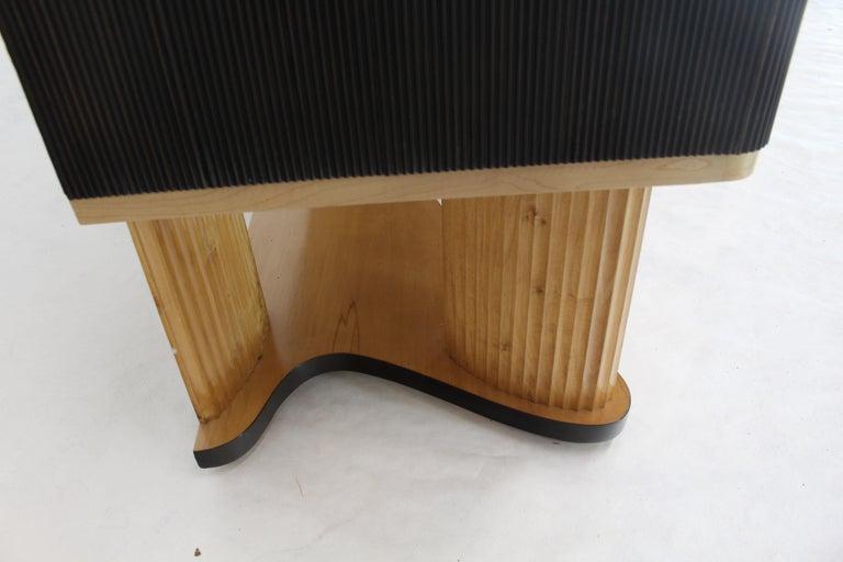Osvaldo Borsani Extra Long Sideboard Bar Cabinet Credenza Italian Modern For Sale 13