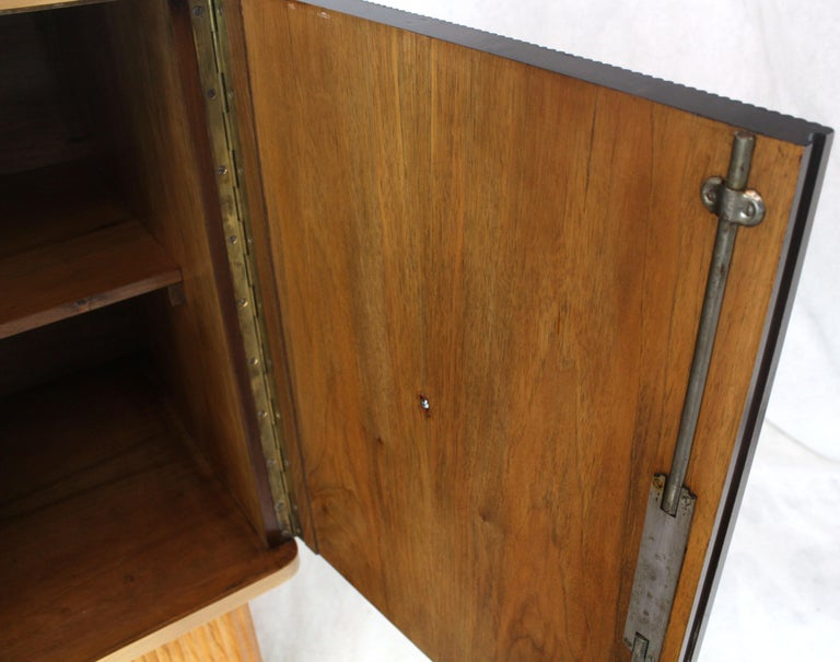 20th Century Osvaldo Borsani Extra Long Sideboard Bar Cabinet Credenza Italian Modern For Sale