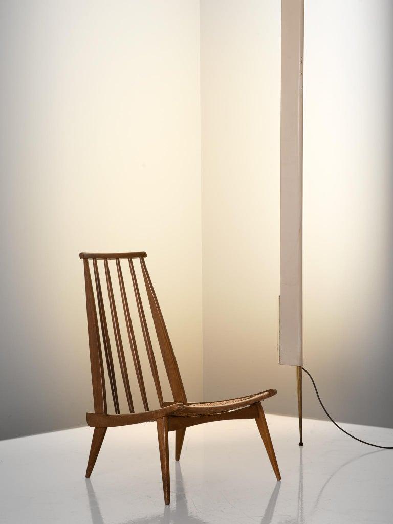 Mid-Century Modern Osvaldo Borsani for Arredoluce 'LT8' Floor Lamp For Sale