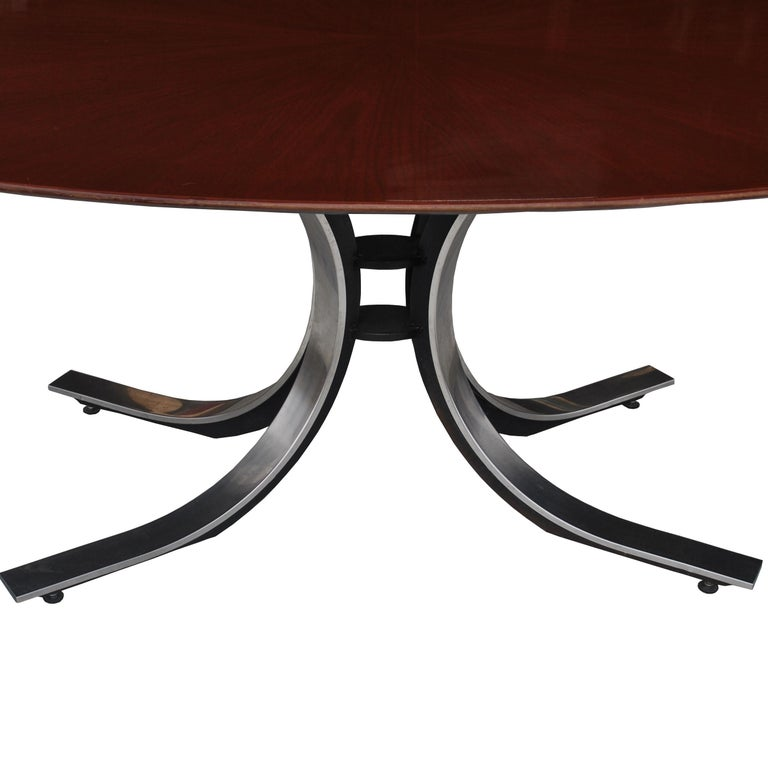 American Stow Davis Oval Dining Conference Table For Sale