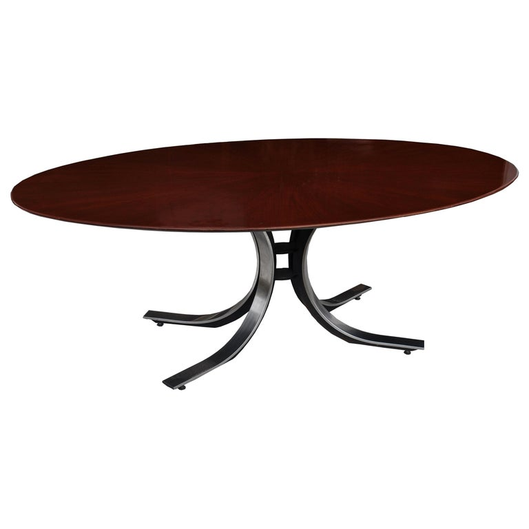 Stow Davis Oval Dining Conference Table For Sale