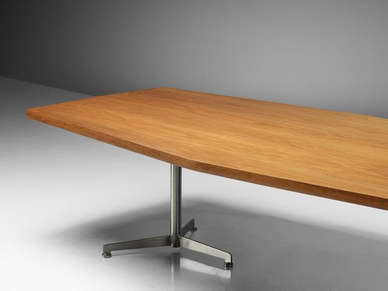 Osvaldo Borsani for Tecno Converence Table in Mahogany For Sale 2