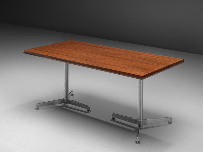 Italian Osvaldo Borsani for Tecno Dining Table For Sale