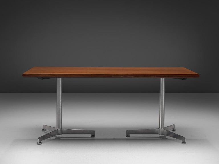 Mid-20th Century Osvaldo Borsani for Tecno Dining Table For Sale