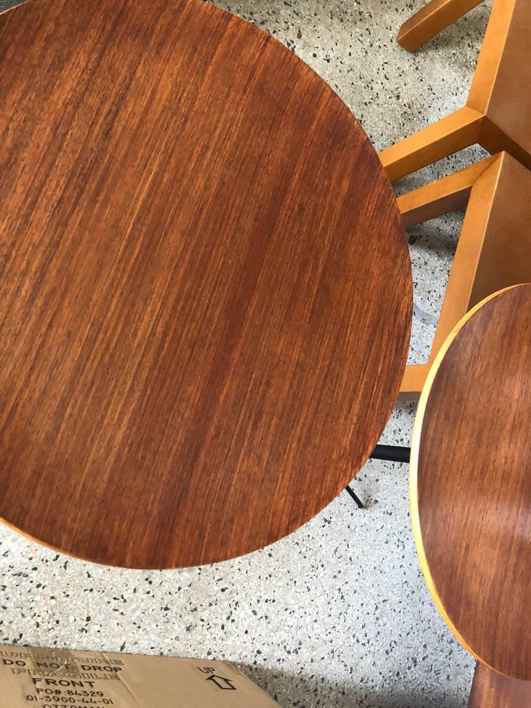 Osvaldo Borsani for Tecno Occasional Tables In Good Condition For Sale In St.Petersburg, FL