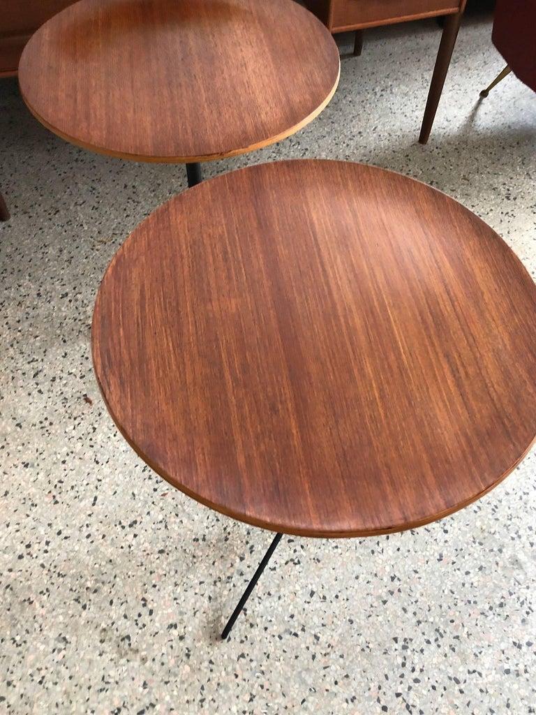 Mid-20th Century Osvaldo Borsani for Tecno Occasional Tables For Sale