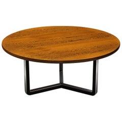 Osvaldo Borsani for Tecno T334C Dining Table in Wengé and Aluminium