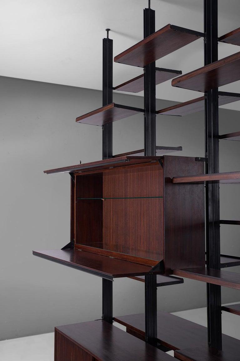 Mid-20th Century Osvaldo Borsani Roomdivider for Tecno For Sale