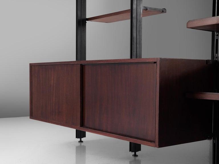 Metal Osvaldo Borsani Roomdivider for Tecno For Sale
